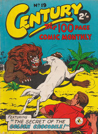 Cover Thumbnail for Century, The 100 Page Comic Monthly (K. G. Murray, 1956 series) #19