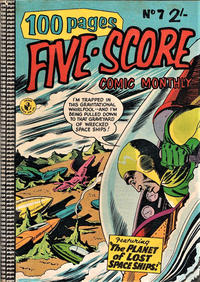 Cover Thumbnail for Five-Score Comic Monthly (K. G. Murray, 1958 series) #7