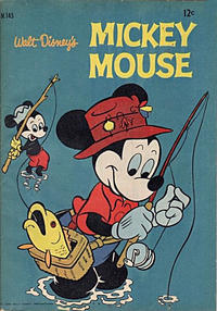 Cover Thumbnail for Walt Disney's Mickey Mouse (W. G. Publications; Wogan Publications, 1956 series) #145