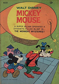 Cover Thumbnail for Walt Disney's Mickey Mouse (W. G. Publications; Wogan Publications, 1956 series) #128