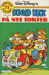 Cover Thumbnail for Donald Pocket (Hjemmet / Egmont, 1968 series) #73 - Donald Duck på nye tokter [1. opplag]