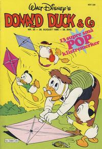 Cover Thumbnail for Donald Duck & Co (Hjemmet / Egmont, 1948 series) #35/1986