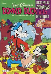 Cover Thumbnail for Donald Duck & Co (Hjemmet / Egmont, 1948 series) #41/1986