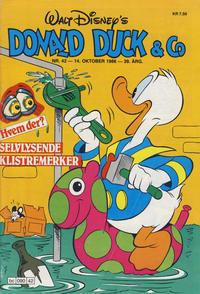 Cover Thumbnail for Donald Duck & Co (Hjemmet / Egmont, 1948 series) #42/1986