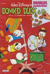 Cover Thumbnail for Donald Duck & Co (Hjemmet / Egmont, 1948 series) #43/1986