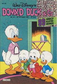 Cover Thumbnail for Donald Duck & Co (Hjemmet / Egmont, 1948 series) #44/1986