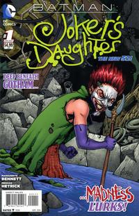 Cover Thumbnail for Batman: Joker's Daughter (DC, 2014 series) #1
