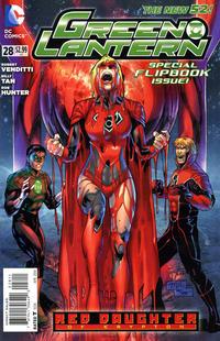Cover Thumbnail for Green Lantern (DC, 2011 series) #28