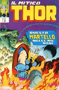 Cover Thumbnail for Il Mitico Thor (Editoriale Corno, 1971 series) #23