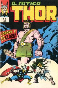 Cover Thumbnail for Il Mitico Thor (Editoriale Corno, 1971 series) #25