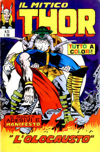 Cover Thumbnail for Il Mitico Thor (Editoriale Corno, 1971 series) #26