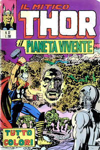 Cover Thumbnail for Il Mitico Thor (Editoriale Corno, 1971 series) #32