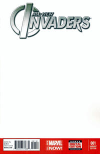 Cover Thumbnail for All-New Invaders (Marvel, 2014 series) #1 [Blank Cover Variant]