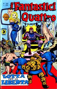 Cover Thumbnail for I Fantastici Quattro (Editoriale Corno, 1971 series) #102