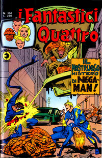 Cover Thumbnail for I Fantastici Quattro (Editoriale Corno, 1971 series) #106