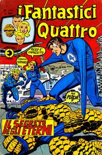 Cover Thumbnail for I Fantastici Quattro (Editoriale Corno, 1971 series) #113