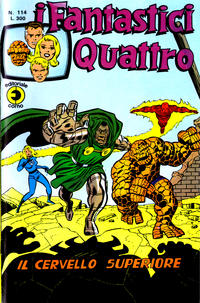 Cover Thumbnail for I Fantastici Quattro (Editoriale Corno, 1971 series) #114