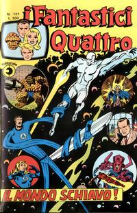 Cover Thumbnail for I Fantastici Quattro (Editoriale Corno, 1971 series) #121