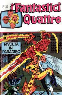 Cover Thumbnail for I Fantastici Quattro (Editoriale Corno, 1971 series) #129