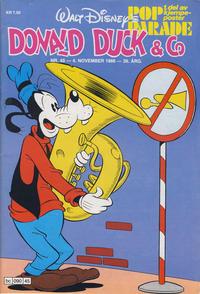 Cover Thumbnail for Donald Duck & Co (Hjemmet / Egmont, 1948 series) #45/1986