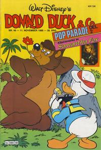 Cover Thumbnail for Donald Duck & Co (Hjemmet / Egmont, 1948 series) #46/1986