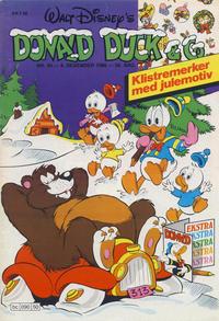 Cover Thumbnail for Donald Duck & Co (Hjemmet / Egmont, 1948 series) #50/1986