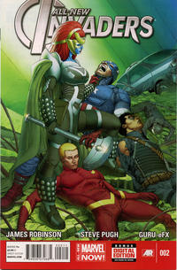 Cover Thumbnail for All-New Invaders (Marvel, 2014 series) #2