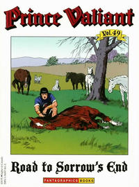 Cover Thumbnail for Prince Valiant (Fantagraphics, 1984 series) #49 - Road to Sorrow's End