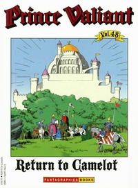 Cover Thumbnail for Prince Valiant (Fantagraphics, 1984 series) #48 - Return to Camelot