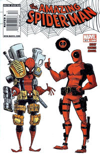 Cover Thumbnail for The Amazing Spider-Man (Marvel, 1999 series) #611 [Newsstand]