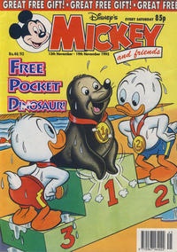 Cover Thumbnail for Mickey and Friends (Fleetway Publications, 1992 series) #46/1993