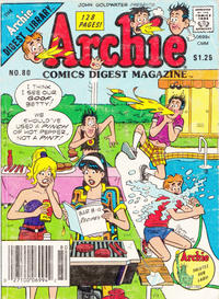 Cover Thumbnail for Archie Comics Digest (Archie, 1973 series) #80 [Newsstand]