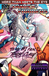 Cover Thumbnail for The Transformers: More Than Meets the Eye (IDW, 2012 series) #22 [Cover A - Alex Milne]
