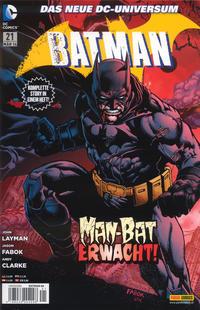 Cover Thumbnail for Batman (Panini Deutschland, 2012 series) #21 (86)