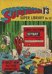 Cover Thumbnail for Superman Super Library (K. G. Murray, 1964 series) #10