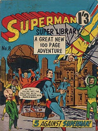 Cover Thumbnail for Superman Super Library (K. G. Murray, 1964 series) #8