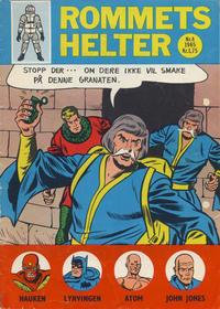 Cover Thumbnail for Rommets Helter (Serieforlaget / Se-Bladene / Stabenfeldt, 1965 series) #4/1965