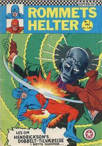 Cover Thumbnail for Rommets Helter (Serieforlaget / Se-Bladene / Stabenfeldt, 1965 series) #3/1967
