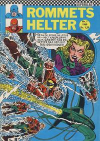 Cover Thumbnail for Rommets Helter (Serieforlaget / Se-Bladene / Stabenfeldt, 1965 series) #1/1969