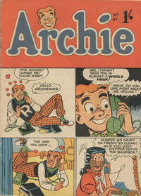 Cover Thumbnail for Archie Comics (H. John Edwards, 1950 ? series) #41