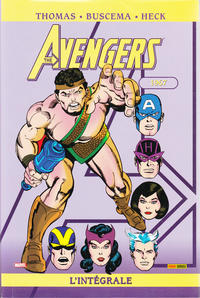 Cover Thumbnail for Avengers : L'intégrale (Panini France, 2006 series) #4