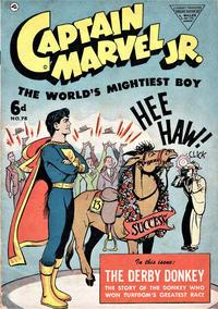 Cover Thumbnail for Captain Marvel Jr. (L. Miller & Son, 1950 series) #75