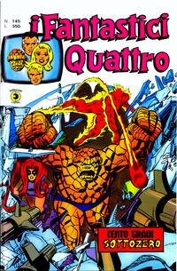 Cover Thumbnail for I Fantastici Quattro (Editoriale Corno, 1971 series) #145
