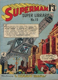 Cover Thumbnail for Superman Super Library (K. G. Murray, 1964 series) #13