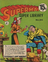 Cover Thumbnail for Superman Super Library (K. G. Murray, 1964 series) #24