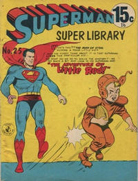 Cover Thumbnail for Superman Super Library (K. G. Murray, 1964 series) #25