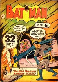 Cover Thumbnail for Batman (K. G. Murray, 1950 series) #90