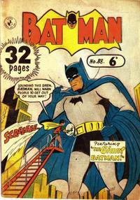 Cover Thumbnail for Batman (K. G. Murray, 1950 series) #88