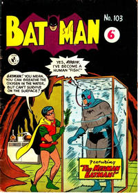 Cover Thumbnail for Batman (K. G. Murray, 1950 series) #103