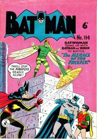Cover Thumbnail for Batman (K. G. Murray, 1950 series) #114